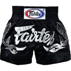 Шорты для тайского бокса Fairtex Black