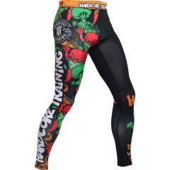 Компрессионные штаны Hardcore Training Angry Vitamins