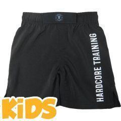 Детские ММА шорты Hardcore Training Black