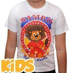 Детская футболка Крепыш Я Лев