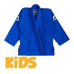 Детское кимоно (ги) для БЖЖ Manto Junior - синий