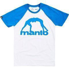 Футболка Manto Raglan White/Blue