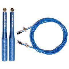Скоростная скакалка Original FitTools FT-JR-33 алюминиевая - синий