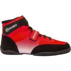 Ботинки для становой тяги САБО Дэдлифт - красные