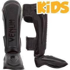 Детские тайские шингарды (накладки на ноги) Venum Elite