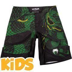 Детские ММА шорты Venum Green Viper