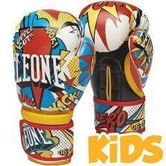 Детские боксерские перчатки Leone Hero