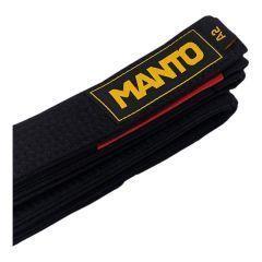 Пояс для кимоно БЖЖ Manto - черный