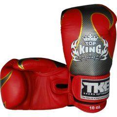 Боксерские перчатки Top King Boxing Empower Creativity Red