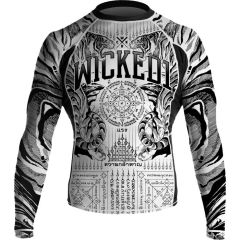 Рашгард Wicked One Tiger White