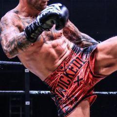 Шорты для тайского бокса Wicked One Tiger