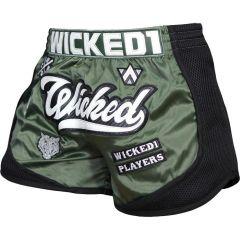 Шорты для тайского бокса Wicked One Squad Khaki