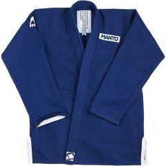 Кимоно (ги) для БЖЖ Manto Intro - синий