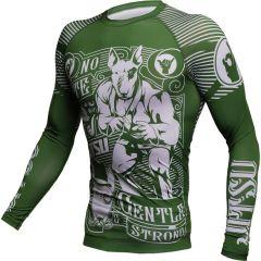 Рашгард Jitsu Gentle & Strong Green