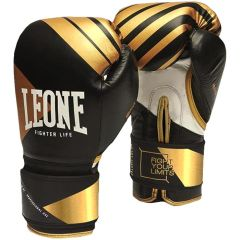 Боксерские перчатки Leone Premium Black