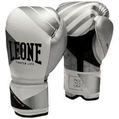 Боксерские перчатки Leone Premium Grey