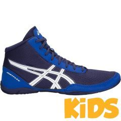 Детские борцовки Asics Matflex 5 - синий