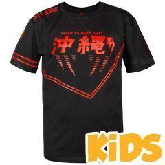 Детская футболка Venum Okinawa 2.0 Black/Red