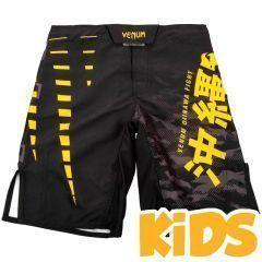 Детские ММА шорты Venum Okinawa 2.0 Black/Yellow