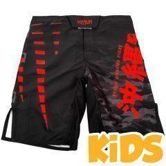Детские ММА шорты Venum Okinawa 2.0 Black/Red