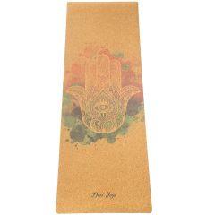 Пробковый коврик для йоги Devi Yoga Hamsa
