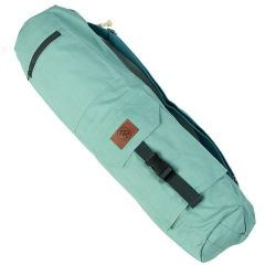 Хлопковая сумка для коврика Devi Yoga Сутра мятная