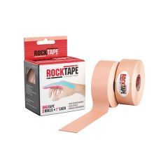 Кинезиотейп RockTape Digit, 2,5см x 5м (2 шт.), телесный