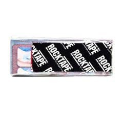 Кинезиотейп RockTape Sample Strips, 5см x 50см, черный логотип