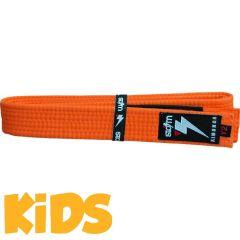 Детский пояс для кимоно БЖЖ Storm - оранжевый