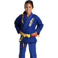 Детское кимоно (ги) для БЖЖ Storm Scout - синий