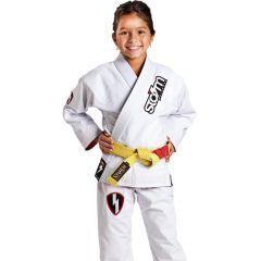 Детское кимоно (ги) для БЖЖ Storm Scout - белый
