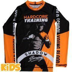 Детский рашгард Hardcore Training Shadow Boxing