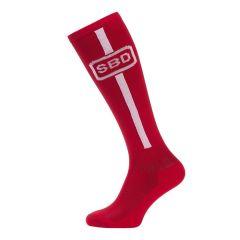 Гольфы для тяги SBD Deadlift Socks (Летняя серия 2019) - красный