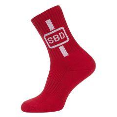 Спортивные носки SBD (Летняя серия 2019) - красный