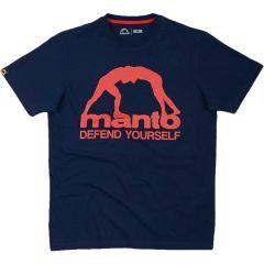 Футболка Manto Defend Youself Navy Blue