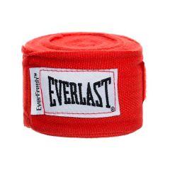 Бинты боксерские Everlast Elastic - красный