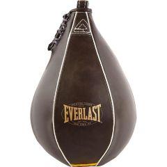 Боксёрская груша Everlast скоростная Vintage 23 x 15 коричн.