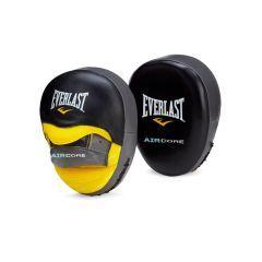 Боксерские лапы Everlast Sefemax Air - черно-серые