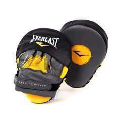 Лапы изогнутые Everlast Mantis Punch Mitts желт/черн.