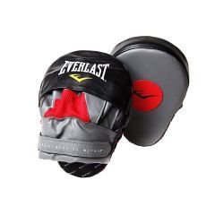 Лапы изогнутые Everlast Mantis Punch Mitts красн/черн.