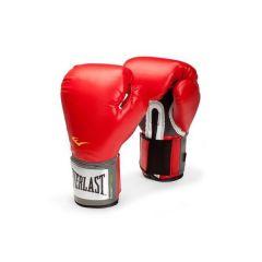 Боксерские перчатки Everlast PU Pro Style Anti-MB красн.