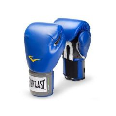 Боксерские перчатки Everlast PU Pro Style Anti-MB син.