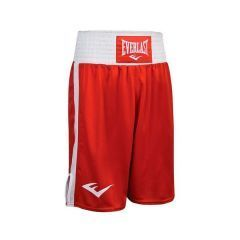 Детские боксерские шорты Everlast Elite красн/бел.