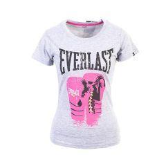 Женская футболка Everlast Logo Protex Gloves сер.