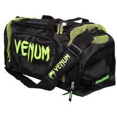 Спортивная сумка Venum Trainer Lite Black/Neo Yellow