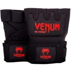 Гелевые бинты Venum Kontact Black/Red