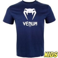 Детская футболка Venum Classic Navy Blue