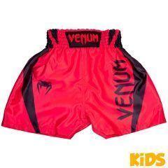 Детские боксерские шорты Venum Elite Red/Black