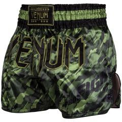 Тайские шорты Venum Tecmo Khaki