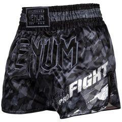 Тайские шорты Venum Tecmo Dark Grey